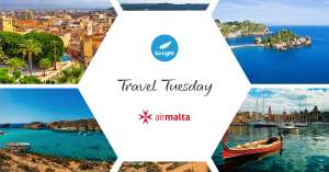£29 each way from London Southend to Malta Cagliari or Catania inc Taxes. - Air Malta