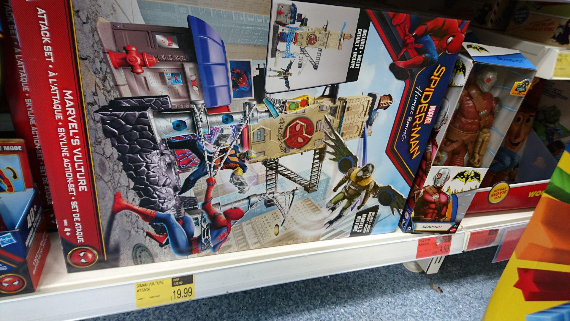 Spiderman vulture attack - £19.99 instore @ b&m Bromborough / wirral - £19.99