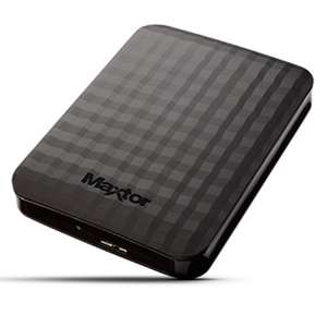 Maxtor M3 4TB USB 3.0 Portable External Hard Drive (save £15.98, from £105.06), £89.08, at eBuyer