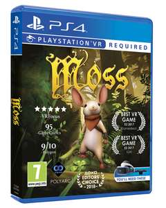 Moss PSVR Physical Release @ shopto £24.85 releasing 15th June