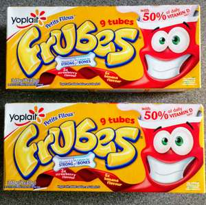 Frubes 69p or 2 for £1.00 instore @ Heron