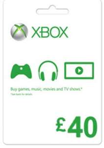 Xbox Live £40 gift card £31.82 @ Gamesdeal
