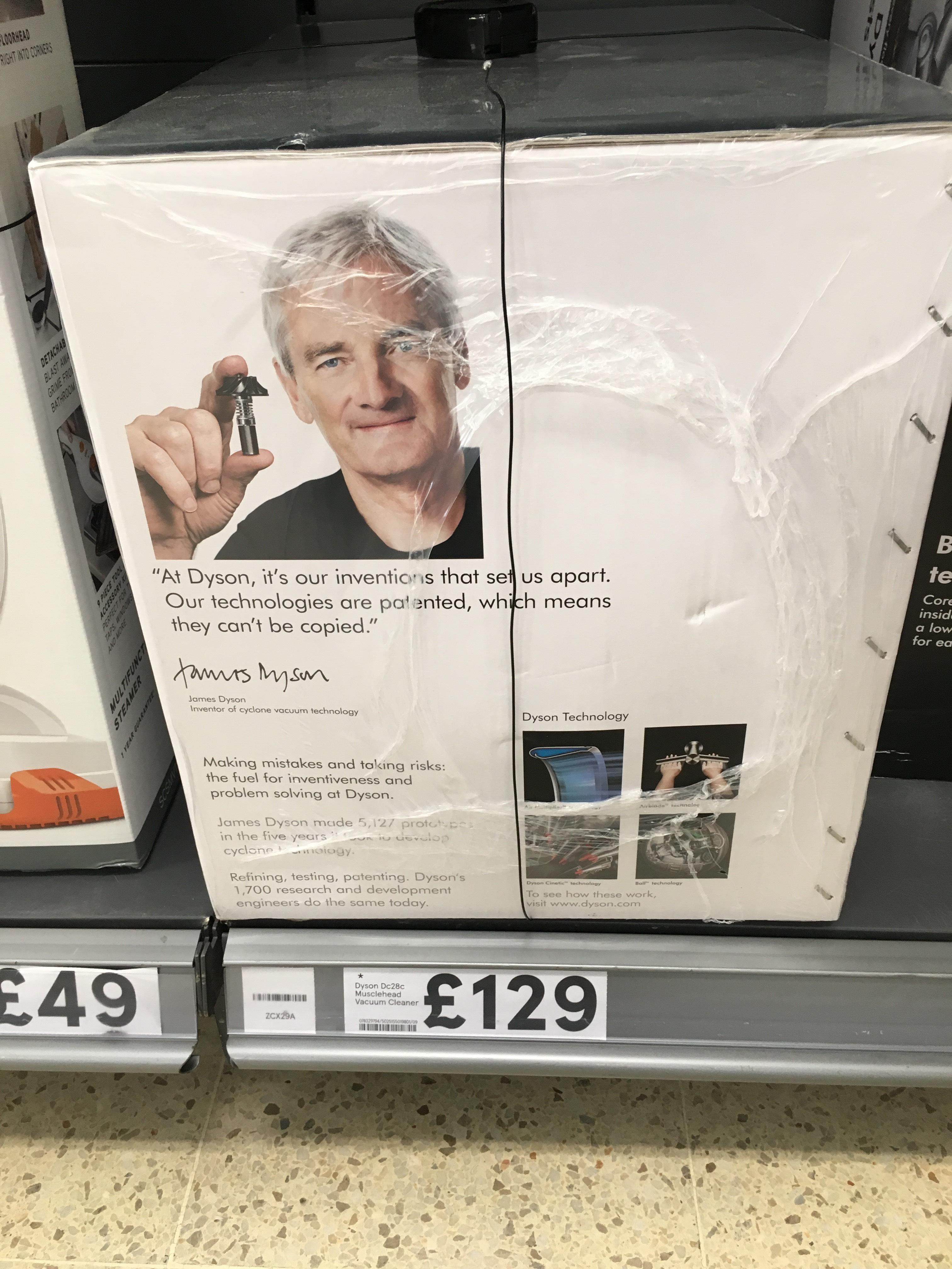 Dyson DC28c vacuum cleaner £129 Tesco in store