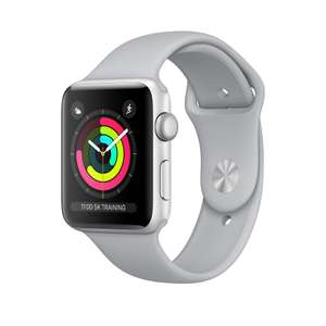 Apple Watch Series 3 GPS 42mm Silver/Fog £319 Sold by EVST and Fulfilled by Amazon