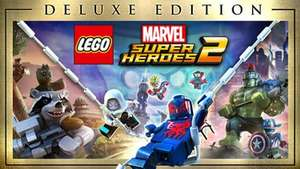 LEGO Marvel Super Heroes 2 & Deluxe @ Fanatical - £5.62 with code