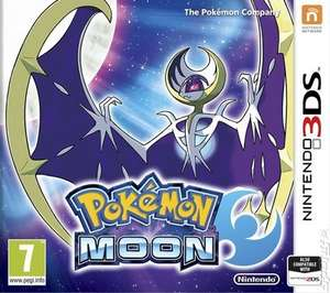 Pokemon Moon (3DS) - £12.89 - MusicMagpie (Pre-owned)