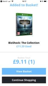 Bioshock the Collection used £9.11 - Music Magpie