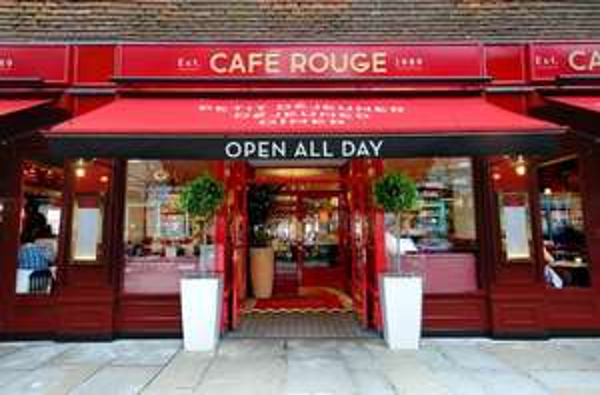 Café Rouge – £5 Burger, Croque or Baguette offer WUNTU