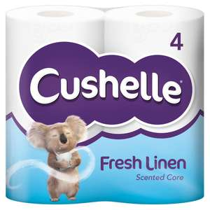 Wilkinson's In store - Cushelle 4-pack - reduced from £2.75 to £1.35