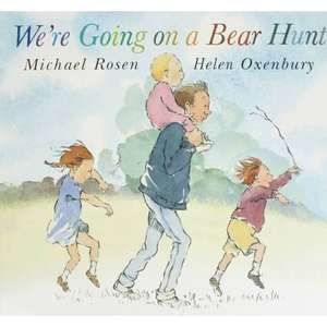 We're Going on a Bear Hunt (Paperback) By Michael Rosen & Helen Oxenbury only £2 Free C&C @ The Works