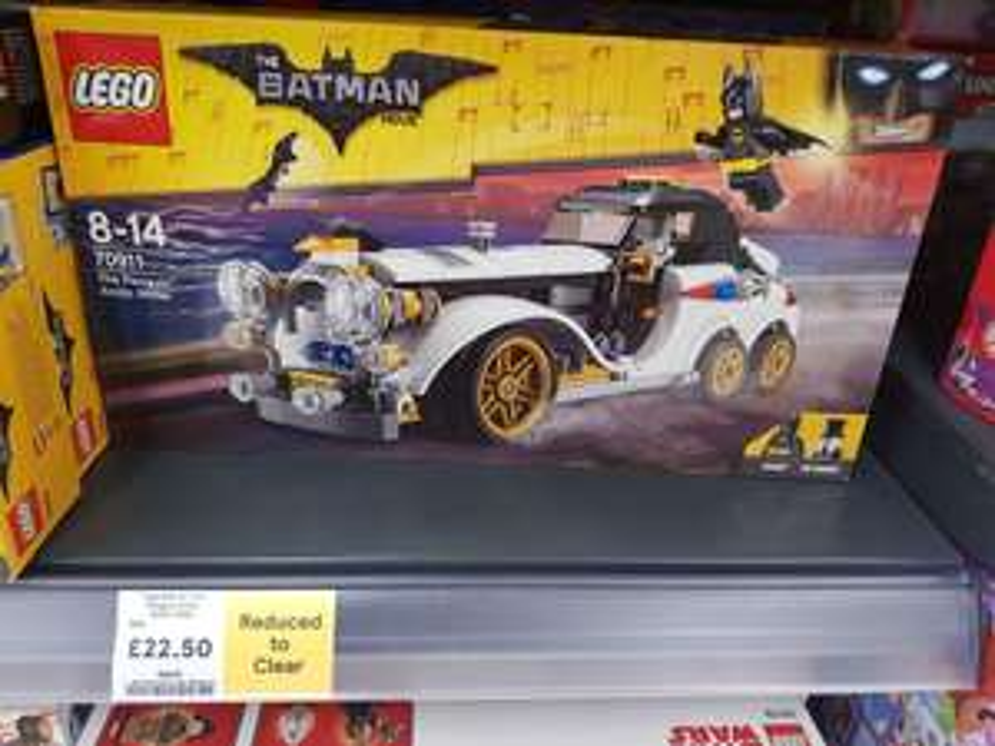 Lego Batman The Penguin Arctic Roller - £22.50 instore @ Tesco