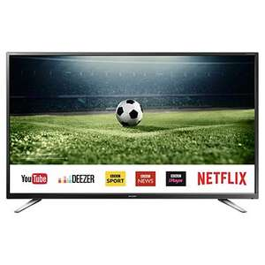 Sharp LC-40FG5151K  40 inch Smart Full HD LED TV with 5 year warranty by Sharp - £249 **Now £239** @ Tesco Direct (C&C)