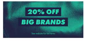 ASOS has 20% off big brands including Nike, Adidas and many more