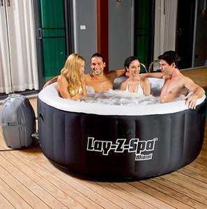 Bestway Lay-Z-Spa Miami Inflatable Hot Tub £262.95 Delivered @ Tesco