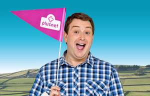 Plusnet Unlimited Fibre broadband, up to 38Mb, 12 month contract @ £24.99 = £299.98 total cost (with £90 quidco + £50 Plusnet cheque. Effectively £13.32/month)