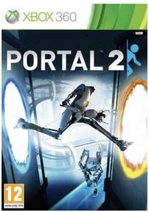 Portal 2 (Xbox)PREOWNED FREE DELIVERY £7.83 @ Music Magpie