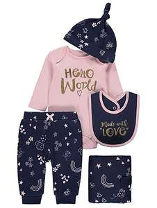 5 piece set age 3-6 months now £6 @ Asda