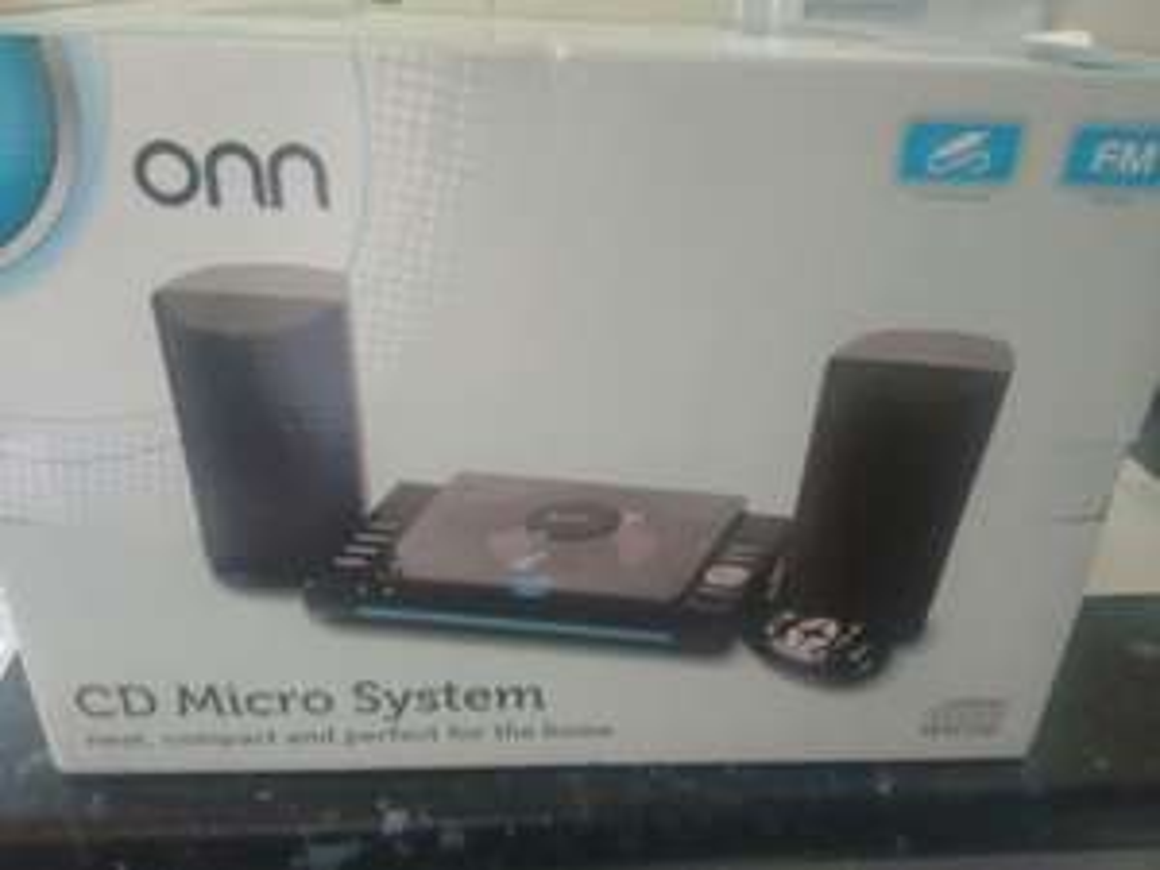 Onn cd micro system £12 at Asda instore (Weymouth)