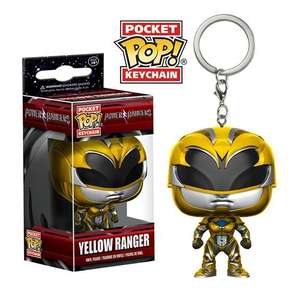 Pop Vinyl Pocket Pop Power Rangers: Yellow Ranger £1.99 online at HMV. Free C&C.