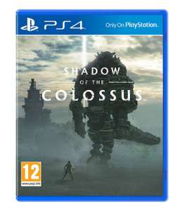 Shadow of the Colossus (PS4), £18 at amazon  prime (+£1.99 delivery non prime)