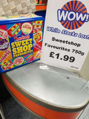 Swizzels... Sweetshop favourites 750g.. £1.99 b&m stores Lincoln