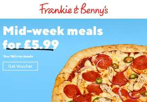 Main and a Drink £5.99 @ Frankie and Benny's