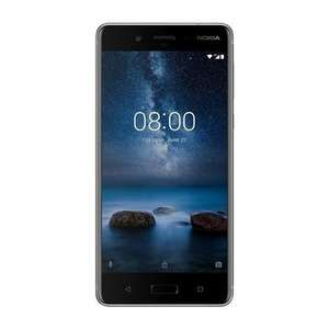 "(Reduced again) new Nokia 8 Steel 5.3"" 64GB 4G Unlocked & SIM Free @ laptops direct"