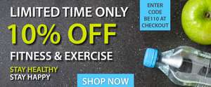 10% off Fitness & Exercise with Code @ Expert Verdict