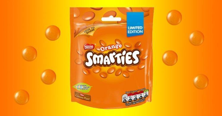 Orange Smarties 112g sharing bag (yeah right) £1 @ Asda instore