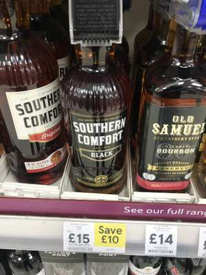 Southern Comfort Black - £15 @ Tesco instore and online