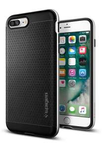 Spigen® Neo Hybrid case [Satin Silver] for iPhone 7+/8+ - £3.99 (Prime) £7.98 (Non Prime) @ Sold by Spigen and Fulfilled by Amazon