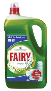 5 Ltrs of Fairy washing up liquid £6 in Farmfoods