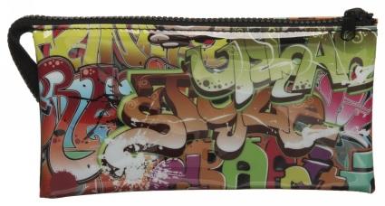 WHSmith Graffiti 3 Pocket Pencil Case use a 20% code - £1.59 C&C @ WH Smith
