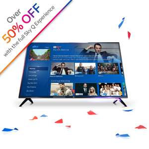 """50% off LG 43"""" 4K TV for Sky Q subscribers or new customers - £249 @ Sky Accessories"""