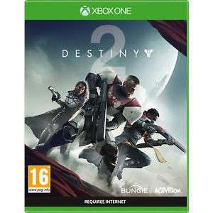 Destiny 2 Xbox one pre owned - £7.11 with 20% off voucher @ Music Magpie