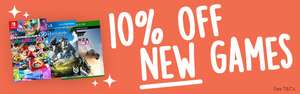 10% off new games @ Music magpie