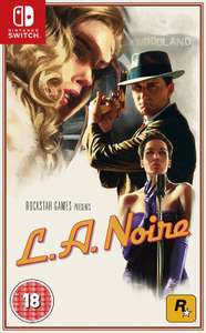 L.A. Noire (Nintendo Switch) £21.99 @ amazon