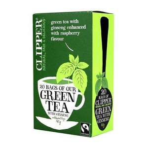 Free Clipper tea and possibly chocolate after Checkoutsmart cashback - £1.99