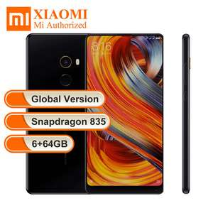 "Global version original Xiaomi Mi MIX 2 Mix2 5.99"" FHD Snapdragon 835 6GB RAM 64GB @ aliexpress (Mi retail store)"