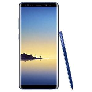 Samsung Galaxy Note 8 64 GB Smartphone, Blue @ amazon Italy (sold by amazon) - £550
