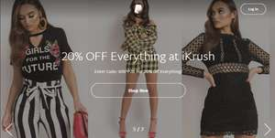 20% off everything @ IKRUSH via Paypal