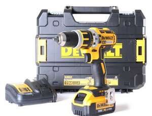 Dewalt DCD795 brushless hammer drill 18V with 4Ah battery - £119.99 @ ITS