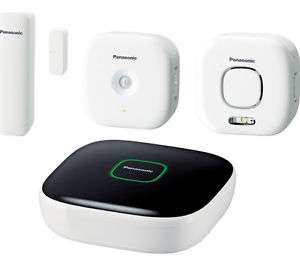 Panasonic Home Safety Starter Kit Plus Includes Base / Sensors / Siren @ Currys eBay - £60.81