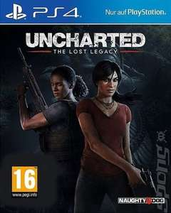 Uncharted : Lost Legacy PS4 (New) - £11.69 @ Music Magpie