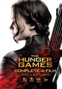 The Hunger Games 4-Movies HD Collection at Skystore - £9.99