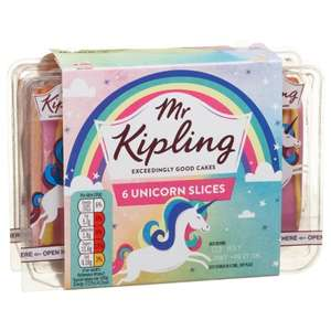 Mr Kipling Unicorn Slices £1 B&M Bargains & Sainsbury's