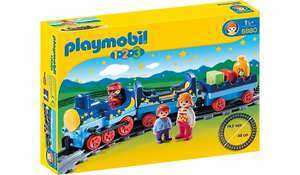 6880 Playmobil 1.2.3 night train with track now £7 @ Asda