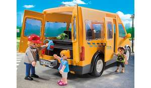6866 Playmobil city life school bus with removable roof £10 @ Asda