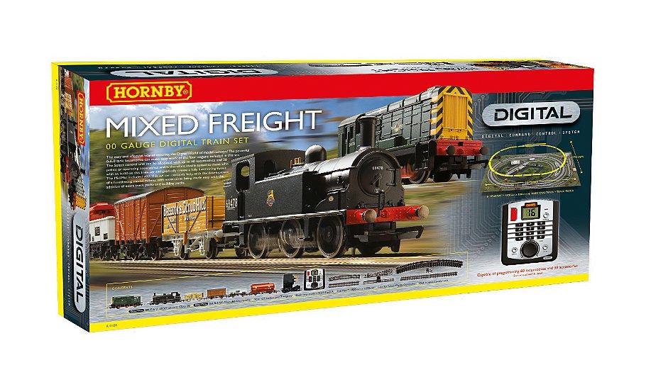 Hornby mixed freight digital train set £114.98 @ Asda