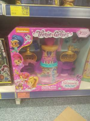 shimmer and shine teenie genies Floating Palace Playset £12.99 b&m colchester